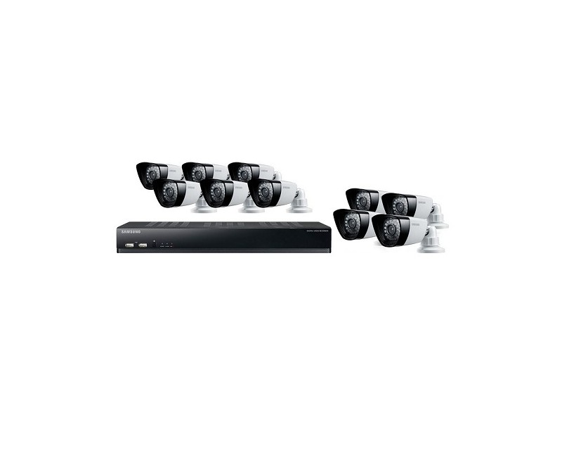Samsung SDS 16 Channel 2TB DVR Home, Office, Commercial Security System.  Loading Zoom