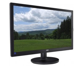 "24"" AOC e2460Swd DVI 1080p Widescreen Slim LED-Backlit LCD Monitor w/HDCP Support (Black)"