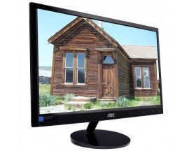 "20"" AOC e2051Sn 720p Widescreen Slim LED-Backlit LCD Monitor (Black)"